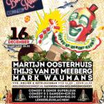 Kerst Comedy op 16 december in het Ketelhuis in Eindhoven