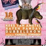 18 november dubbelprogramma: Rayen Panday & Kees van Amstel