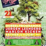 Jeroen Leenders bij Boiler Room Comedy in April