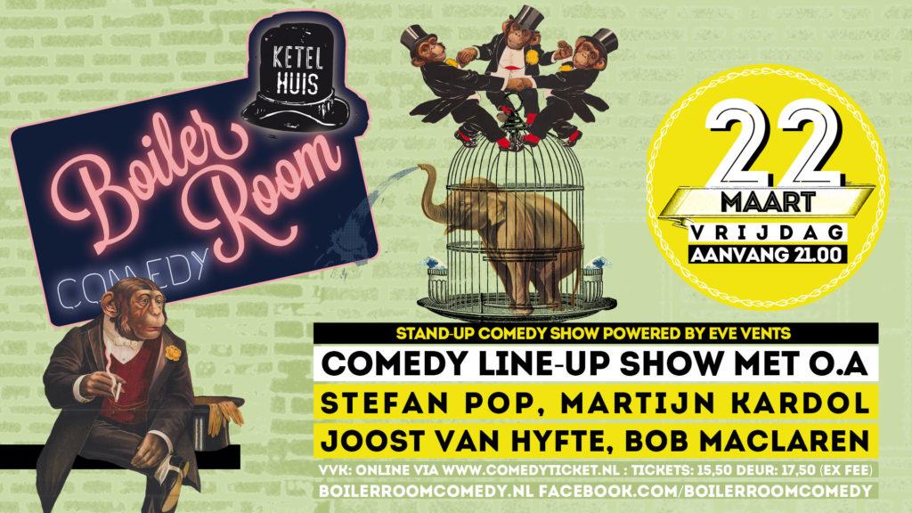 Boiler Room Comedy met Stefan Pop