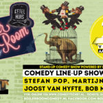 Boiler Room Comedy met Stefan Pop